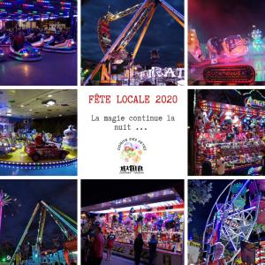 Fête Locale 2020 - La magie la nuit