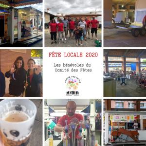 Fête Locale 2020 - Les bénévoles