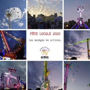 Fête Locale 2020 - Les manèges en actions