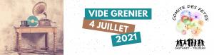 Vide Grenier Juillet 2021